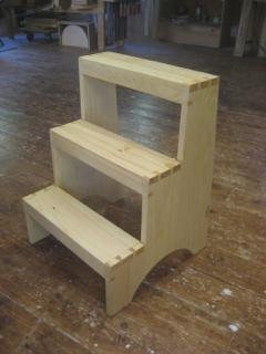 On June 15 and 16 I had a chance to teach at Lie-Nielsen Toolworks in Warren ME. We made a white pine Shaker 3- step stool using only hand tools (except ... : shaker step stool - islam-shia.org